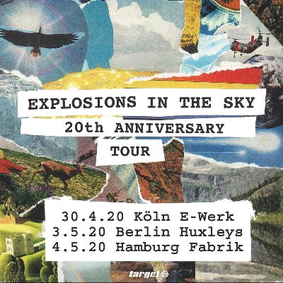 Explosions In The Sky - 20th Anniversary Tour