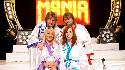 ABBAMANIA THE SHOW - SUPER - TROUPER - TOUR 2021