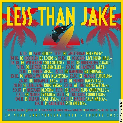 Less Than Jake (US) + Tequila And The Sunrise Gang