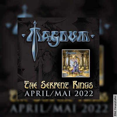 MAGNUM - The Serpent Rings Tour 2021