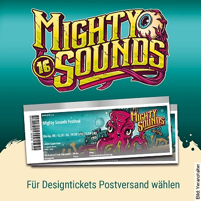 MIGHTY SOUNDS 2022 - Backstage Ticket